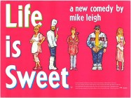 Life Is Sweet (1991) movie poster
