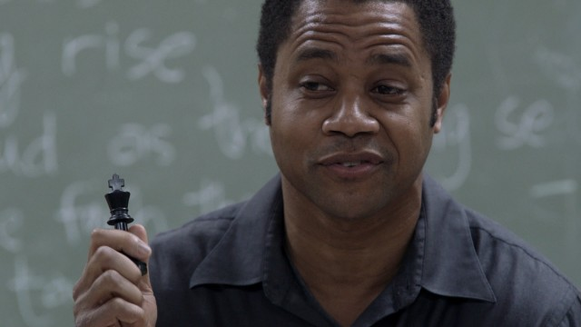 "Eugene Brown (Cuba Gooding, Jr.) teaches troubled inner city youths about chess in ""Life of a King."""