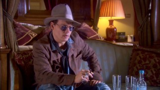 "Johnny Depp discusses his amusing guest appearance in ""The Making of 'Life's Too Short.'"""