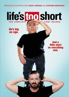Life's Too Short: The Complete First Season DVD cover art -- click to buy from Amazon.com