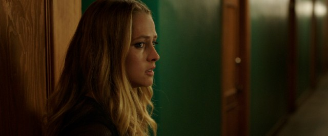 """Lights Out"" stars Teresa Palmer as Rebecca, a young woman whose mother dead friend haunts her and her brother."