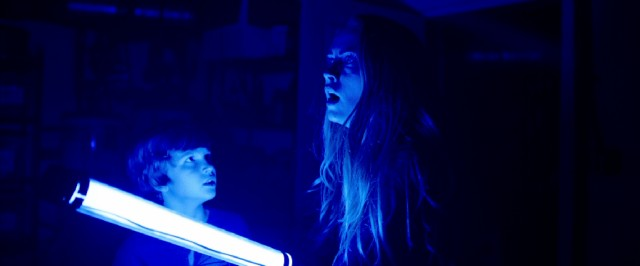 """Lights Out"" breaks out the black light in its blue-tinted climax."
