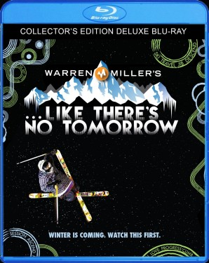 Warren Miller's ...Like There's No Tomorrow (2011) Blu-ray Disc cover art - click to buy from Amazon.com
