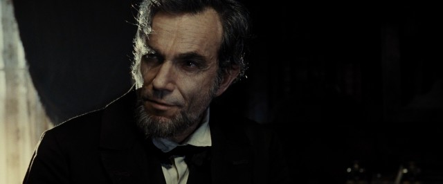 "Daniel Day-Lewis is President Abraham Lincoln in ""Lincoln."""