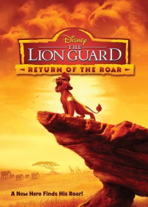 Disney's The Lion Guard: Return of the Roar DVD cover art -- click to buy from Amazon.com