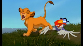 "Simba and Zazu's song ""The Morning Report"" is viewable on its own, but not within the movie it was added to."