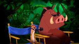 Of all the available Timon and Pumbaa shorts, the Blu-ray's producers limit you to their Blu-ray 3D sales pitch.
