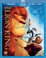 The Lion King: Diamond Edition Blu-ray + DVD combo cover art - click to buy from Amazon.com