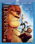 The Lion King: Diamond Edition Blu-ray + DVD combo cover art