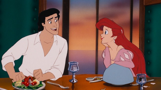 A now-human Ariel tries to capture Prince Eric's heart without a voice.