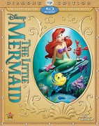 The Little Mermaid: Diamond Edition Blu-ray + DVD + Digital Copy combo pack cover art -- click to buy from Amazon.com