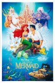 The Little Mermaid (1989) movie poster