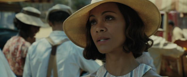 "Zoe Saldana plays Graciela, a Cuban business associate and the most focal love interest of Joe Coughlin in ""Live by Night."""