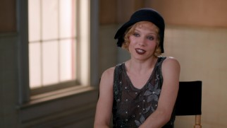 "Sienna Miller discusses her character Emma Gould in the featurette ""Angels with Dirty Faces."""