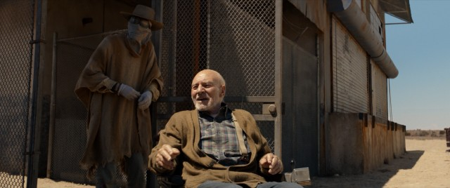 In the year 2029, the closest thing Logan has to friends are sun-allergic Caliban (Stephen Marchant) and an ailing nonagenarian Charles Xavier (Patrick Stewart).