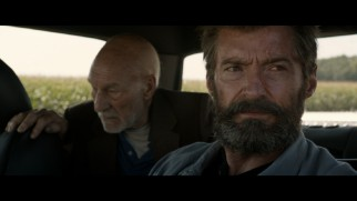 Logan (Hugh Jackman) gets pulled over for speeding in this deleted scene.