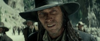 Heart-eating outlaw Butch Cavendish (William Fichtner) is the film's most obvious villain.