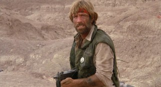 Little time is wasted before establishing J.J. McQuade (Chuck Norris) as an improbably heroic Texas Ranger.