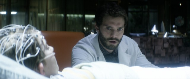 "An accident-prone boy's coma sparks inexplicable occurrences for Allan Pascal (Jamie Dornan), the doctor treating him in ""The 9th Life of Louis Drax."""