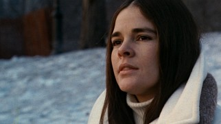 Jenny (Ali MacGraw) chooses to spend her dying days watching Ryan O'Neal ice skate.