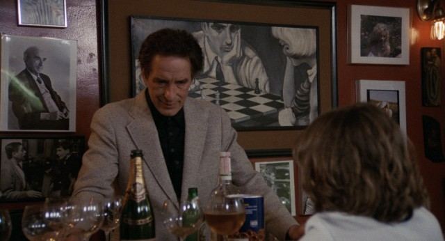 Alcoholic playboy Robert Harmon (John Cassavetes) tries to bond with his estranged son over the boy's first beer.