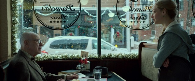 Grandpa Bucky (Alan Arkin) makes a daily diner visit to see Ruby (Amanda Seyfried), his favorite waitress.