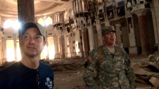 In one of the film's more memorable scenes, Gary Sinise is taken on a tour of several of Saddam Hussein's once-luxurious homes.