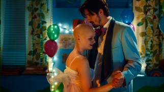 An improbably impromptu prom dance for Jonathan (Garrett Hedlund) and bone cancer patient Meredith (Jessica Barden) feels miscalculated.