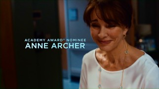 Playing longtime wife and mother Rachel, Anne Archer is one of five Academy Award-nominated cast members.