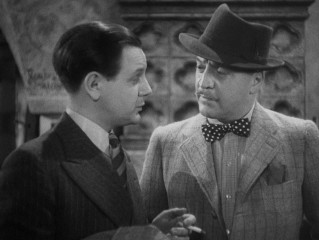 "Comedy duo Caldicott (Naunton Wayne) and Charters (Basil Radford) are introduced in ""The Lady Vanishes."""