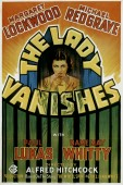 The Lady Vanishes (1938) movie poster