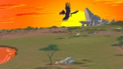 The Lion King DVD: Zazu's Flyaround -- click for larger view