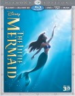 The Little Mermaid (1989) Diamond Edition Blu-ray 3D + Blu-ray + DVD + Digital Copy + Music