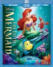 The Little Mermaid: Diamond Edition Blu-ray + DVD cover art