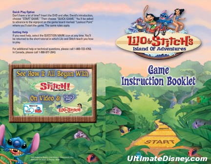 Here is a look at the instruction booklet, the disc art, and some