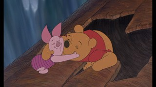 Through it all, Pooh & Piglet are best friends.
