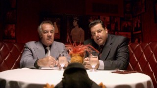 "Pepe's underworld contacts are played by Tony Sirico and Steve Schirippa, identifying the special as following the age of ""The Sopranos."""