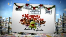 "The DVD main menu for ""A Muppets Christmas: Letters to Santa"" is simple yet satisfying."