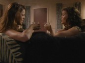 Ronnie (Rosa Blasi) and Chloe (Susan Ward) share a rare laugh and drink together in this deleted scene.