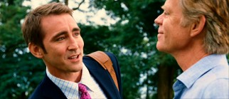As owner Phil Winslow, Lee Pace loses the Hitler 'stache of the Marmaduke comic strip while trying to please his new boss (William H. Macy).