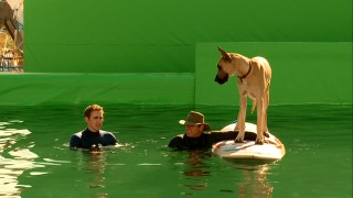 "How do you get a dog to surf? With lots of green screen, ""Cowabarka!"" reveals."