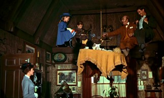 Extraordinary sights -- such as this Uncle Albert tea party that laughter lifts to the ceiling -- are commonplace in the company of Mary Poppins.