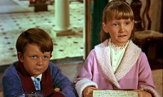 Meet Michael (Matthew Garber) and Jane (Karen Dotrice), the children whose taste for mischief sparks everything that happens in the film. Here, the kids spell out (in rhyme) the qualities they'd like to see in their new nanny.