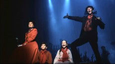 "Broadway's Mary, Michael, Jane, and Bert perform ""Step in Time"" in a nicely-shot stage excerpt."