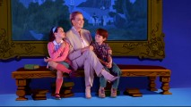 "Julie Andrews takes two youngsters inside an animated world in the P.L. Travers-adapted short ""The Cat That Looked at a King."""