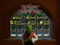 Kermit is your not so patient host on the recycled (but well-done) Main Menu.
