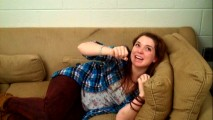 "Jennifer Stone is repeatedly awoken from her couch naps in ""Caught in the Act."""
