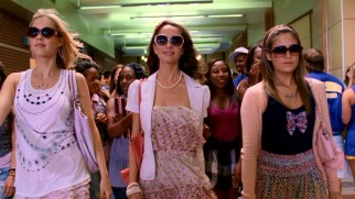 The nasty new crop of Plastics consists of Chastity (Claire Holt), Mandi (Maiara Walsh), and Hope (Nicole Gale Anderson).
