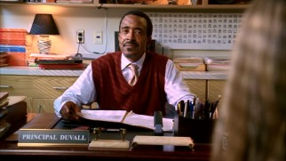 "Tim Meadows, the one holdover from ""Mean Girls"" to ""Mean Girls 2"", reprises his role as North Shore's amusing principal Ron Duvall."