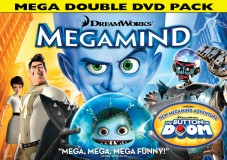 Megamind: Mega Double DVD Pack cover art -- click to buy from Amazon.com